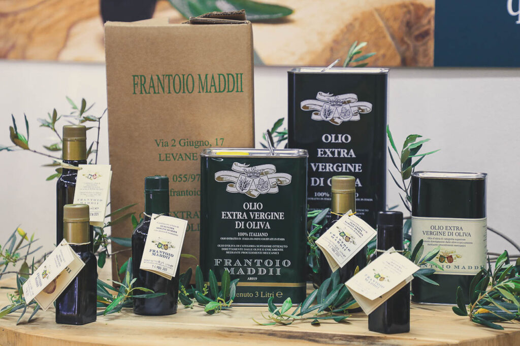 Frantoio Maddii extra virgin olive oil products